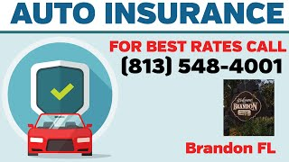 Cheapest Business Auto Insurance Brandon Florida - Call 813-548-4001 Today for Best Commercial Auto
