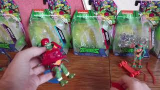 Новые игрушки Черепашки Ниндзя. TMNT. Rise of the Teenage Mutant Ninja Turtles.