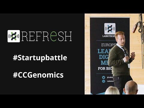 AI to design personalised DNA-based tests - Cambridge Cancer Genomics pitch at Refresh 2017