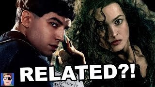 Bellatrix & Credence Are Related?! | Fantastic Beasts Theory thumbnail