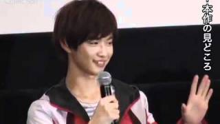 千葉雄大らゴセイジャーのメンバーがシンケンジャーとの競演語る さとう里香 動画 20