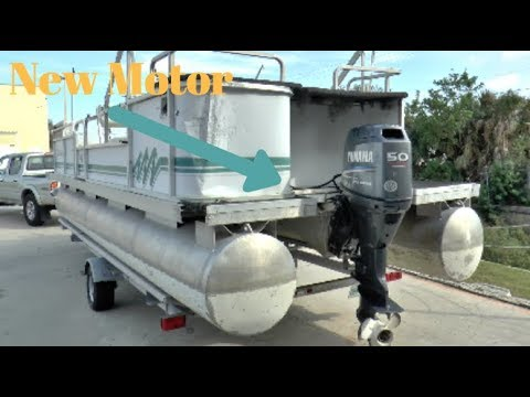 Repowering A Pontoon Boat
