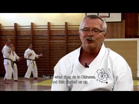 OKINAWA – SLOVAKIA, THE WAY OF KARATE , japan version , english subtitles
