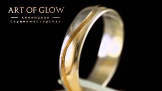 Красивые обручальные кольца, выполненные из золота, 585 пробы.(, 2014-05-27T16:32:13.000Z)
