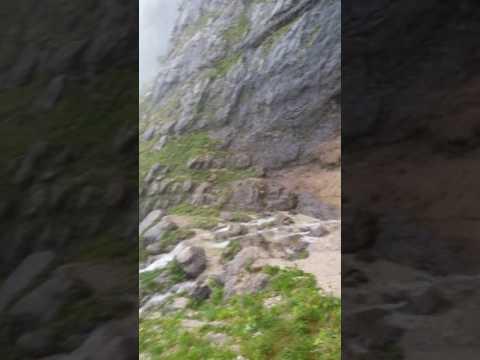 Красивейший 200 метровый водопад в России на Кавказе