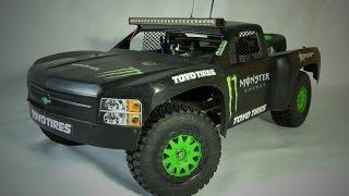 Custom RC Desert Trophy Truck. Prject Overview (EN)