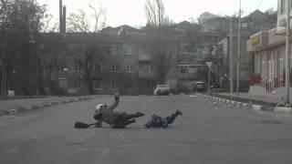 Сильный ветер в Новороссийске