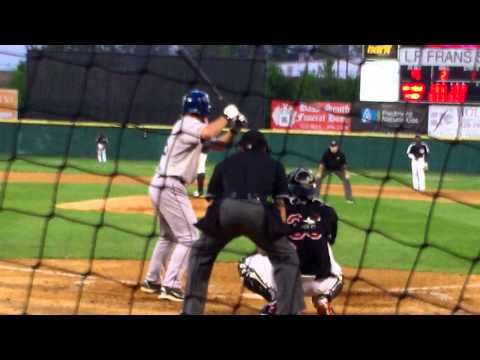 Hickory RHP Tyler Smith vs. Asheville DH Mike Benjamin, 4.12.14