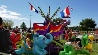 WALT'S FLYING ELEPHANT RIDE RENTAL- FOUR SEASONS AMUSEMENTS