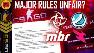 CSGO | Unfair Major Rules for MiBR/LG? NiP and Lazarus Hurt for Berlin