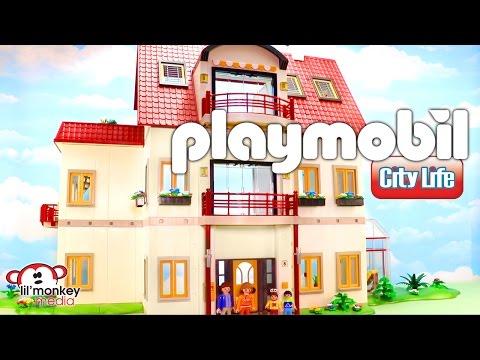 Playmobil City Life Suburban House!  Retro Playmobil House
