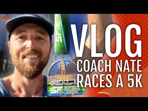 VLOG | Coach Nate Races A 5k