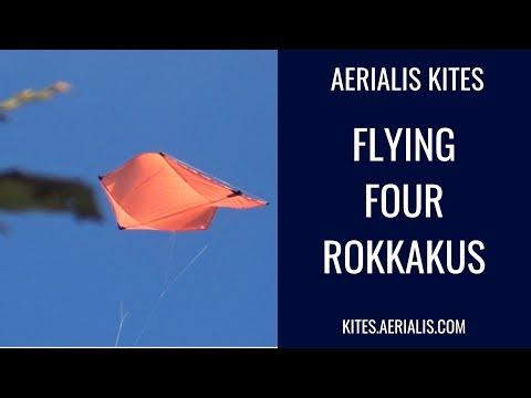 Flying Four Rokkakus - 4K