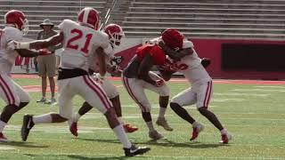 Houston Football: Fall Scrimmage 8.18.2018