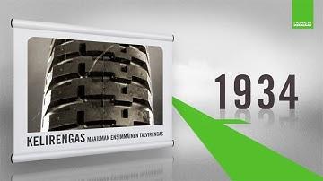 Nokian Renkaiden historia - Yli 80 vuotta talvirenkaita