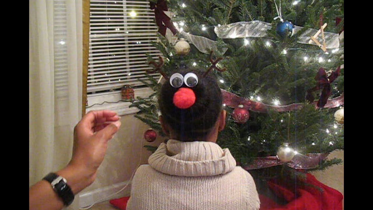 The Christmas Sock Bun: How to Do This Favorite Hairstyle With a ...