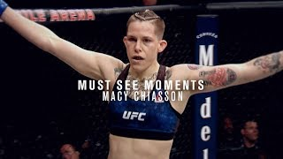 Must See Moments: Macy Chiasson Talks Ultimate Fighter Win