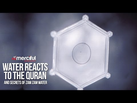 Water Reacts to the Quran & Secrets of ZamZam
