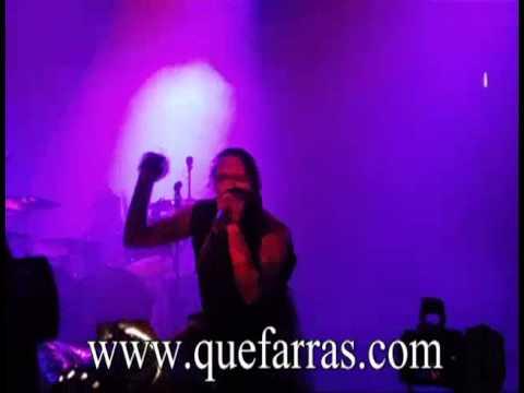 Marilyn Manson en Ecuador Quito VIDEOS FOTOS CONCIERTO en el Rumiñahui