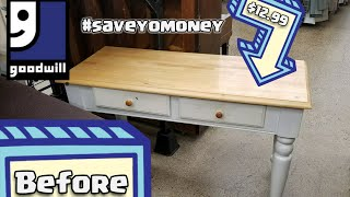 Thrifty Makeover! | Vanity Table, Mirror, & More! 😄