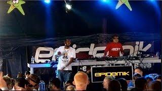 Uncle Dugs & MC Fearless Live - Epidemik Arena - HD - High Definition Festival 2014