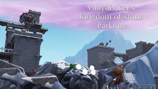 KINGDOM OF STONE PARKOUR map code Fortnite Creative island