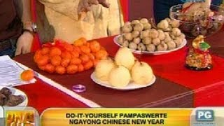 UH: Do-it-yourself pampaswerte ngayong Chinese New Year