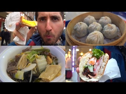 What I Eat When I'm Depressed...  Brooklyn Chinatown Tour 