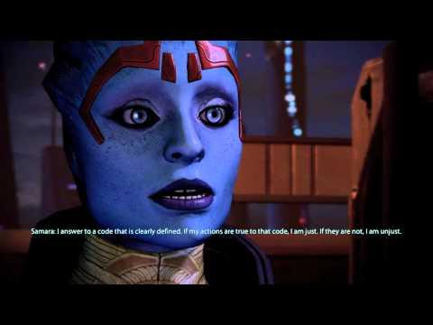 [Mass Effect 2 HD] Samara Recruit mission [full dialogue]