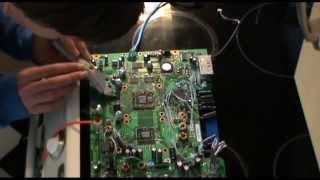 How to fix xbox 0110 error with a heatgun!
