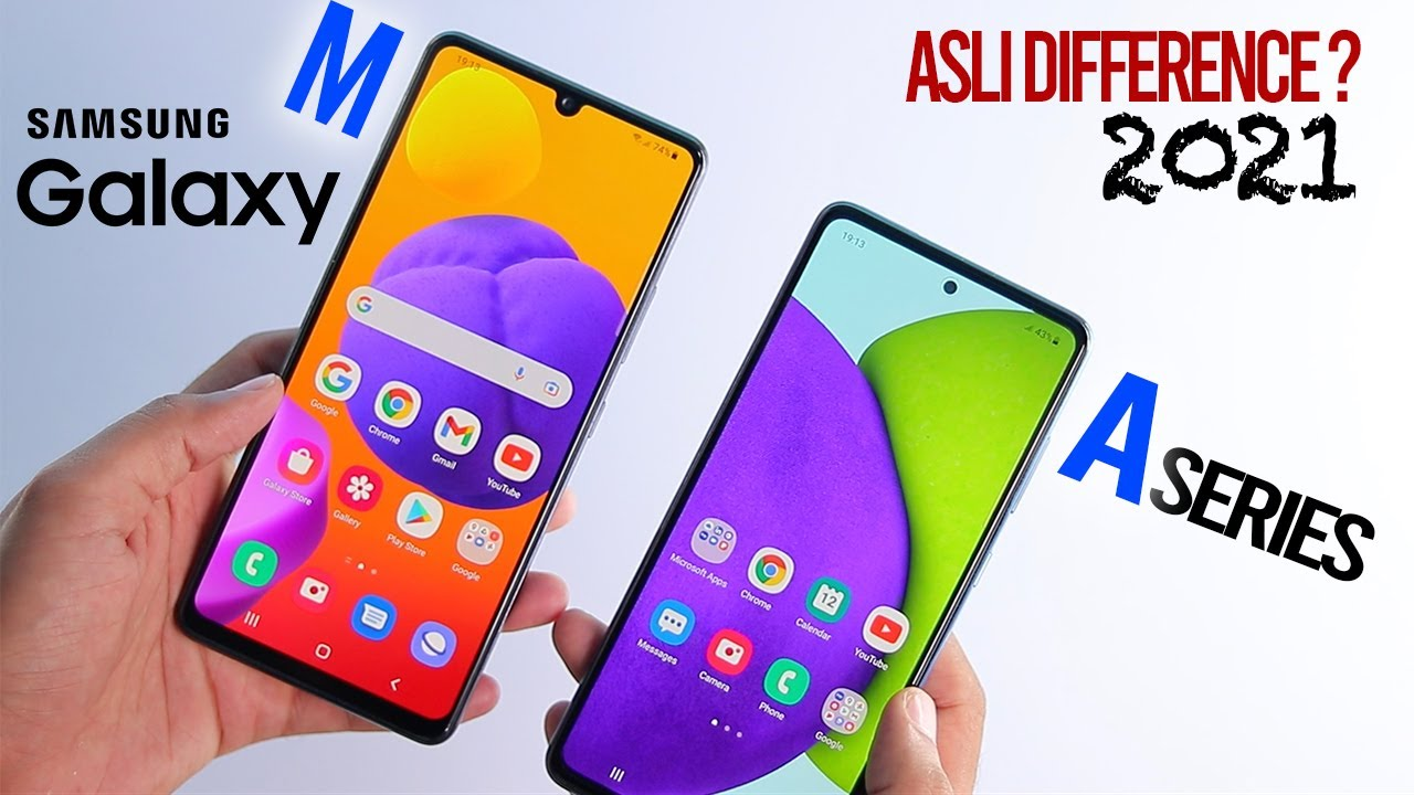 Download Samsung A series vs M series - Real Difference in 2021!!