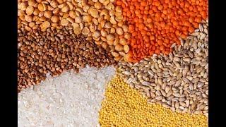 Обзор Круп: Рис, гречка, горох.