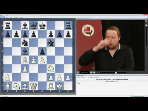 Simon Williams - Evans Gambit for the new generation