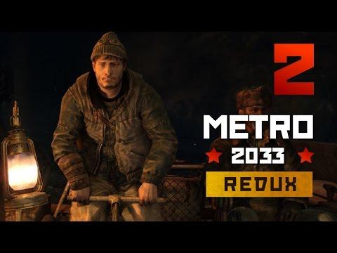 Metro 2033 Gameplay Part 2 - Riga, Dark Ones & Bourbon