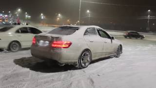Mercedes-Benz Snow Drift - MBArmenia. Video By Eranosyan