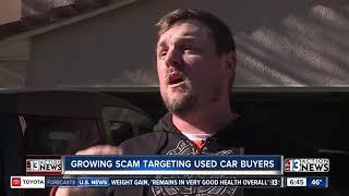 Growing scam targeting used car buyers