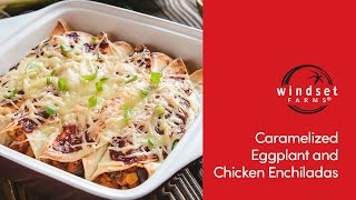 Windset Farms: Roasted Eggplant & Chicken Enchiladas With Chef Ned Bell