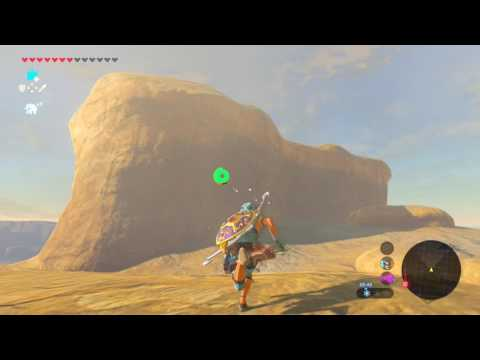 Frost Talus! The Legend of Zelda: Breath of the Wild