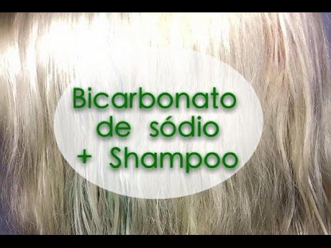 Bicarbonato De Sodio Com Shampoo Como Retirar Pigmento Ou Verde