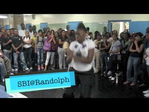 West Indian DVD Cafeteria Demonstration at A. Philip Randolph Campus High School