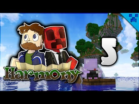 Minecraft Harmony | The Most BEAUTIFUL Biome In Minecraft?! | Multiplayer Modded Survival Episode 5