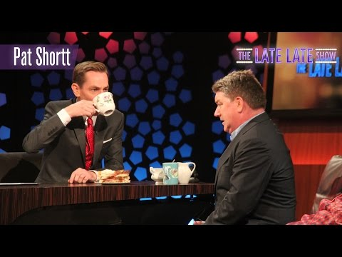 Pat Shortt on how to be noticed at funerals | The Late Late Show | RTÉ One