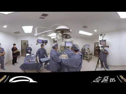 Операция на желудке через патрубок 360° 3D 4K Short Film видео для VR