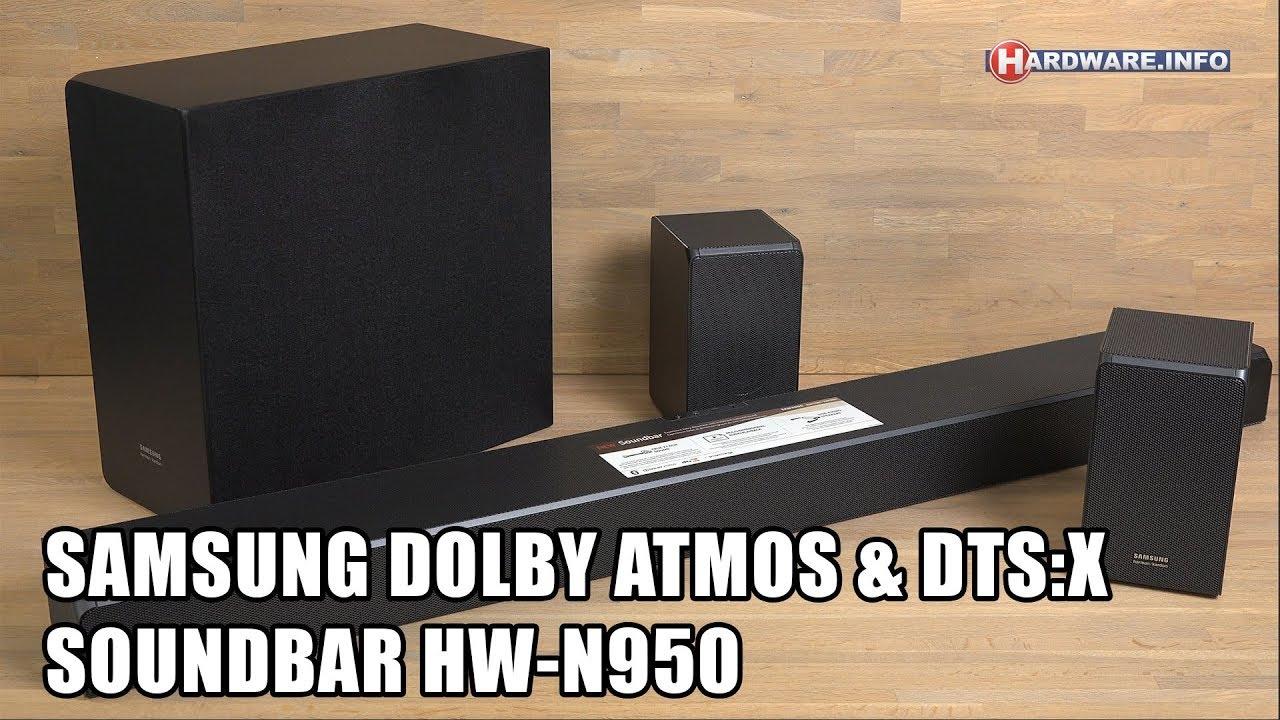 Soundbar - Atmos Review 4k info amp; Dts Uhd Samsung Hw-n950 Tv Dolby x Hardware