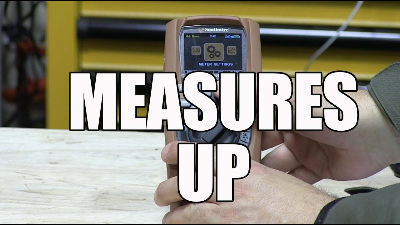 Southwire MaintenancePRO Multimeter and MApp Mobile App - 15190T ...