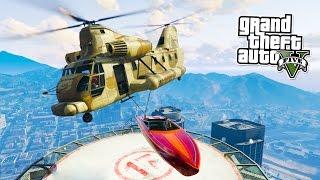 GTA 5 Online WRECKING BALL! Custom GTA Online Game Mode! (Grand Theft Auto V PS4 Gameplay)