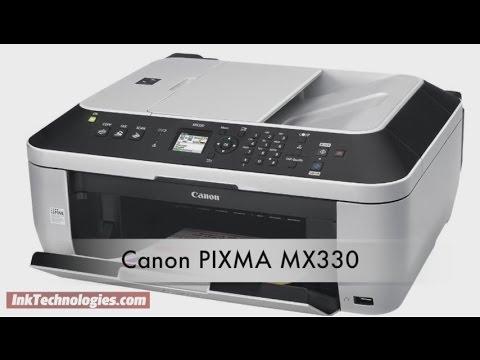 Canon PIXMA MX330 Instructional Video Ink Technologies