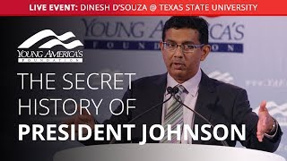 Dinesh D'Souza LIVE at Texas State University