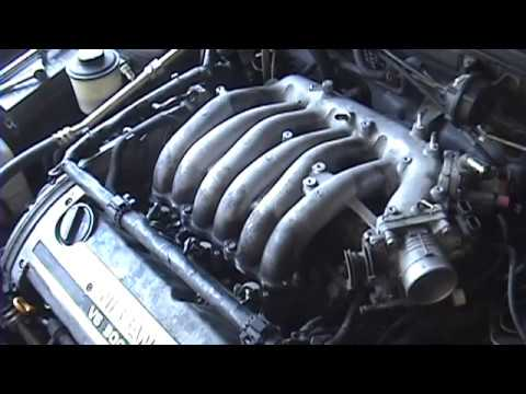 1995-1999 nissan maxima: upper intake manifold replacement