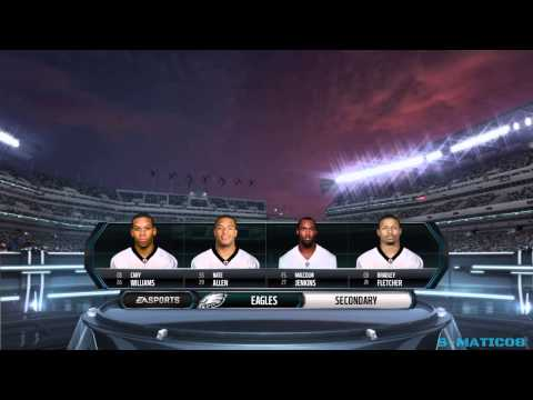 PANTHERS Vs. EAGLES Week 10 MNF Highlights Madden NFL 15 Gamplay PS4